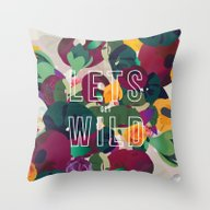 The Wild Throw Pillow