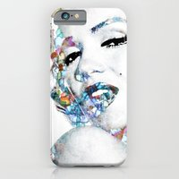 iPhone & iPod Case featuring Marilyn Monroe (NOW WITH MORE SIZES) by NKlein Design