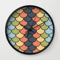 Modern Blend Wall Clock