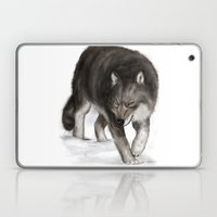 Arctic wolf Laptop & iPad Skin