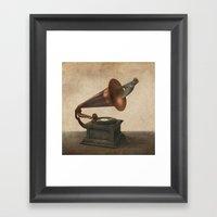 Vintage Songbird (option… Framed Art Print