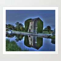 Old Storehouse Along The… Art Print