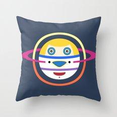 Spaceman 4 Throw Pillow
