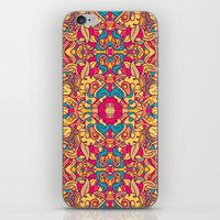 Eye Of The Beast Pattern iPhone & iPod Skin