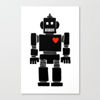 Loverbot Canvas Print