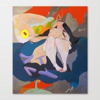 APATHY  Canvas Print