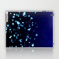 Twinkele Blue Stars Laptop & iPad Skin