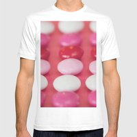 Dot, Dot, Dot . . . . Mens Fitted Tee White SMALL