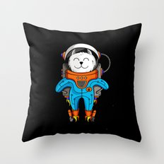 Intercatlactic! to the delicious Milky way!!! Throw Pillow