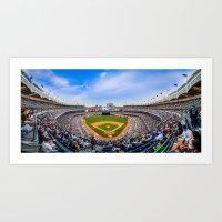 New York Yankees - Color Art Print