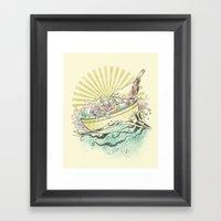 Unique Nesting Framed Art Print