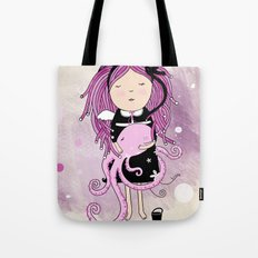 Octavia and Octopus Tote Bag