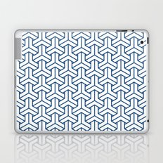 bishamon in monaco blue Laptop & iPad Skin