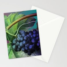 Purple Grape Vine Stationery Cards