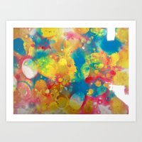 Colour Mix II Art Print