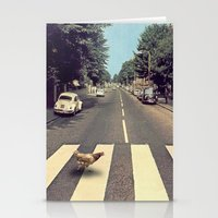 Why did the chicken cross THE road? Stationery Cards