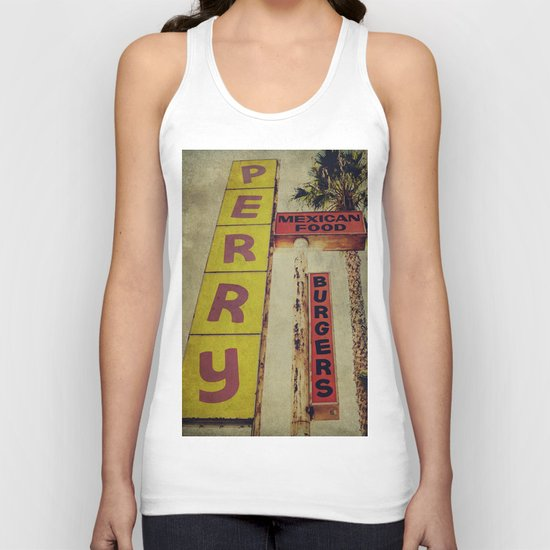 Perry's Vintage Sign Unisex Tank Top