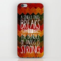Tecumseh Quote iPhone & iPod Skin