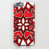 iPhone & iPod Case featuring red lotus by Rinneko