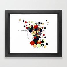 Geometric Clothing Framed Art Print