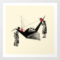 In Search Of Beauty (Cir… Art Print