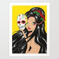 Day of the Deads Art Print