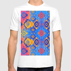 jemez in salivate White SMALL Mens Fitted Tee