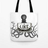 I Like Icky Tickles Tote Bag