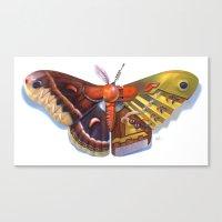Cecropia Bot Canvas Print
