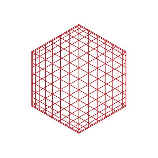 #184 Sphere/cube – Geometry Daily Art Print