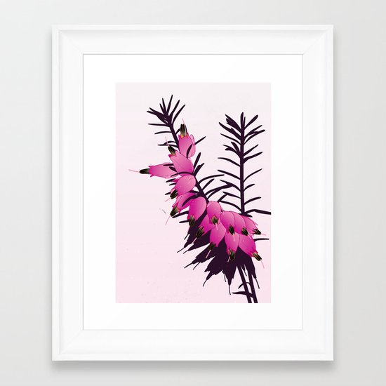 'Heather' Framed Art Print