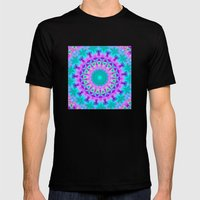 Kaleidoscope Mens Fitted Tee Black SMALL