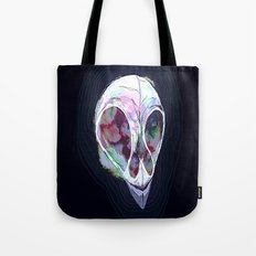 Pastel Skull Tote Bag