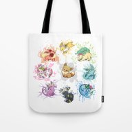 Eeveelutions Tote Bag