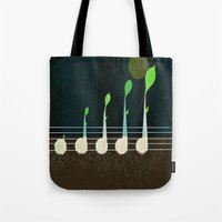 Music Seeds Tote Bag