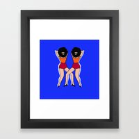 SHOW YOUR ARMPIT Framed Art Print