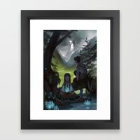 The Cloud Factory Framed Art Print
