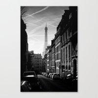 Any Corner In Paris Canvas Print