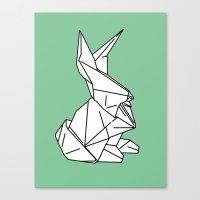 Bunny or 兔子 (Tùzǐ), 2014. Canvas Print