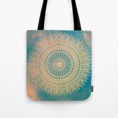GOLDEN SUN MANDALA Tote Bag