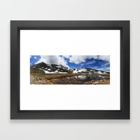 Mt. Evans, Colorado Framed Art Print