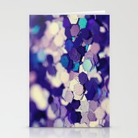 Grape Mix - an abstract photograph Stationery Cards