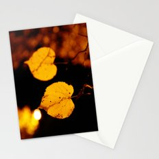 Side by side...last night Stationery Cards