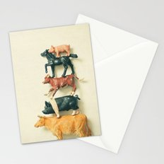 Animal Antics Stationery Cards
