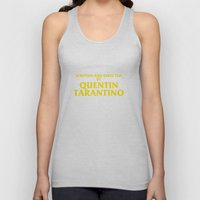 Written And Directed By Quentin Tarantino Unisex Tank Top