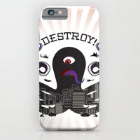 iPhone & iPod Case featuring DESTROY! by rollerpimp