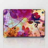 flowers and light iPad Case