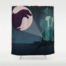 Payback Time  2014 godzilla  Shower Curtain