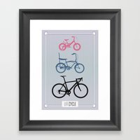 Lifecycle Framed Art Print