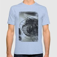Columbus Circle Mens Fitted Tee Athletic Blue SMALL